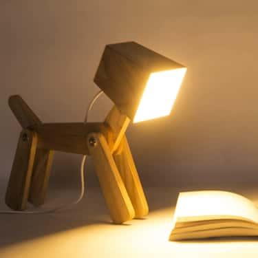 Dog Desk Lamp
