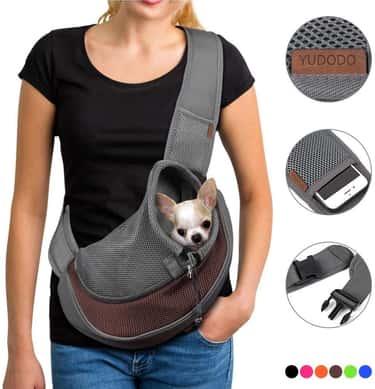 YUDODO Pet Dog Sling Carrier