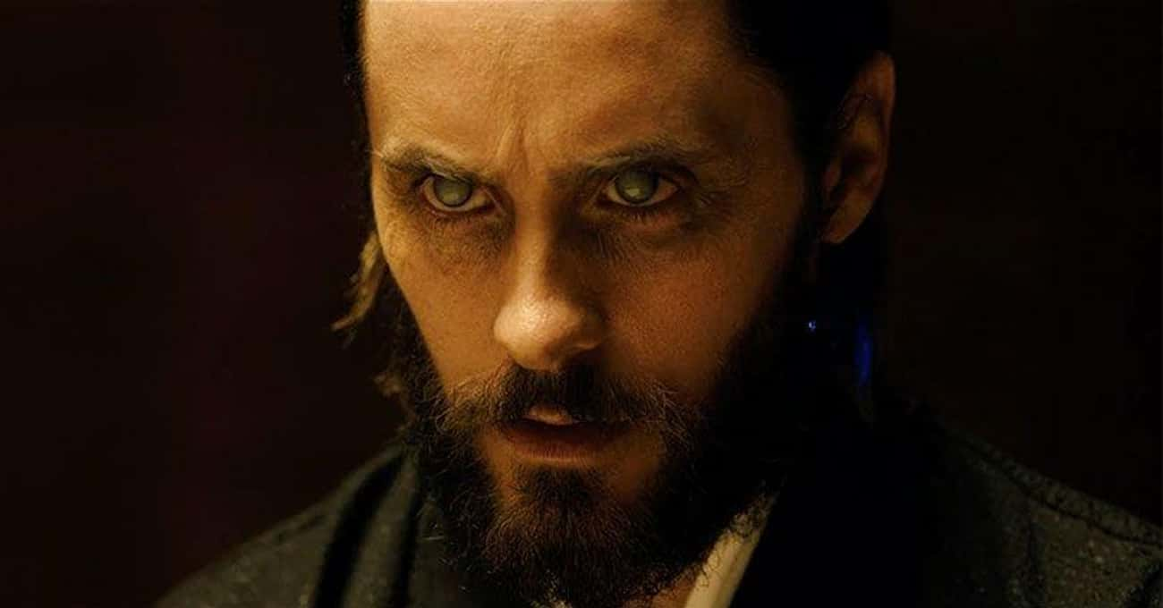 Jared Leto Wore Opaque Contact Lenses