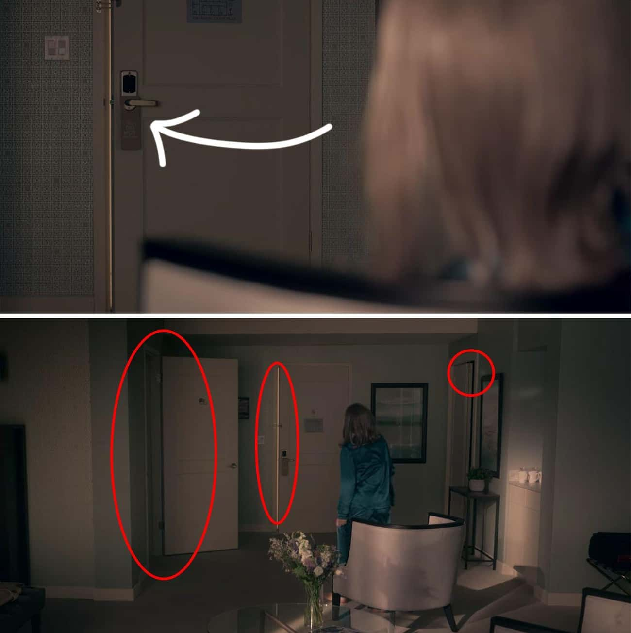 The Woman (Jamie) Keeps The Doors Open - Jamie Is Waiting For Dani To Come Back (Circles Back From The Ending)