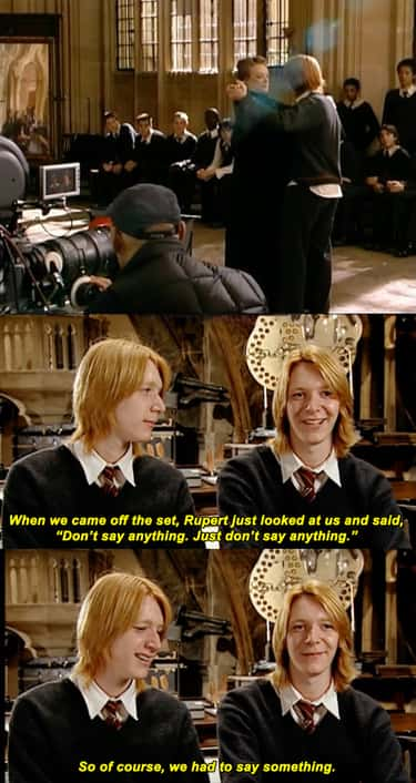 22 Moments That Show The Phelps Twins Really Are The Weasley Twins In Real Life