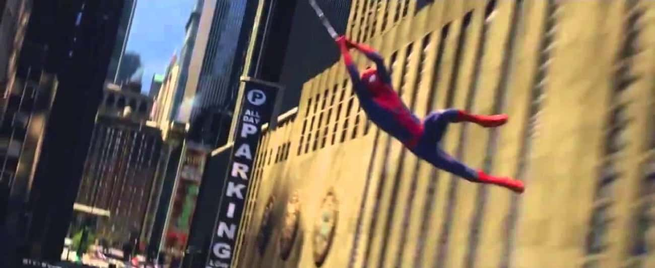 The Web-Slinging In 'The Amazing Spider-Man' Was Real