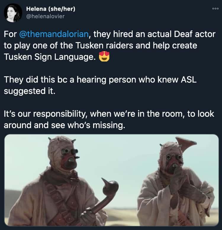 Tusken Sign Language