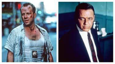 Bruce Willis And Frank Sinatra ('Die Hard' / 'The Detective')