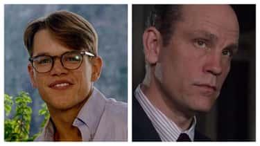 Matt Damon And John Malkovich ('The Talented Mr. Ripley' / 'Ripley's Game')