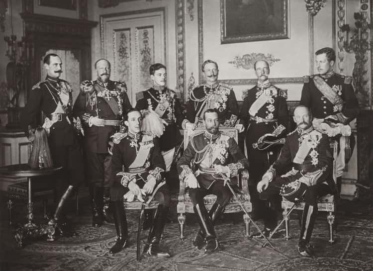 The 9 Kings Of Europe Gathered For King Edward VII's Funeral - 1910