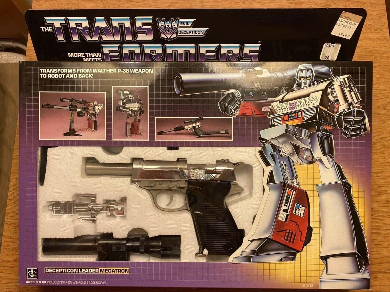 Generation 1 Megatron (Sold For $5,100)