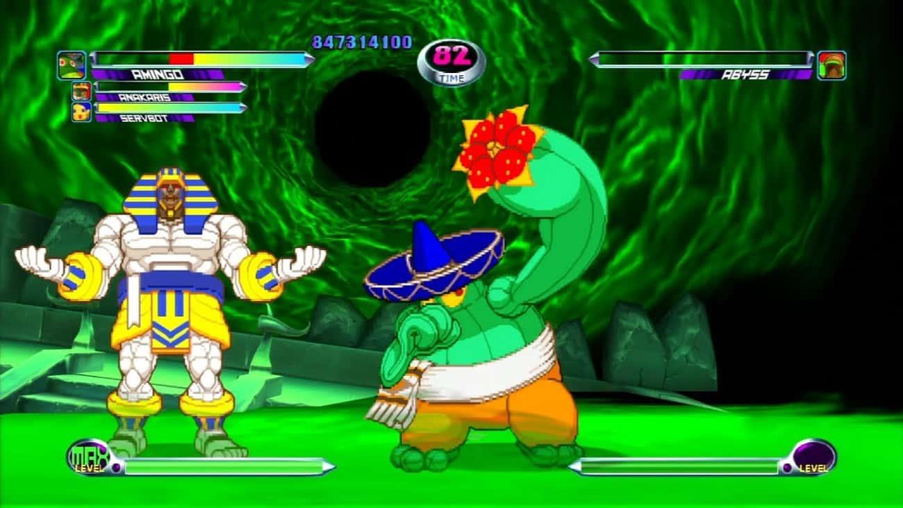 Amingo - 'Marvel vs. Capcom 2'
