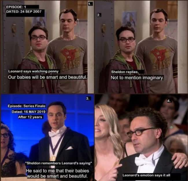 Leonard Predicting He And Penny Will Have Children