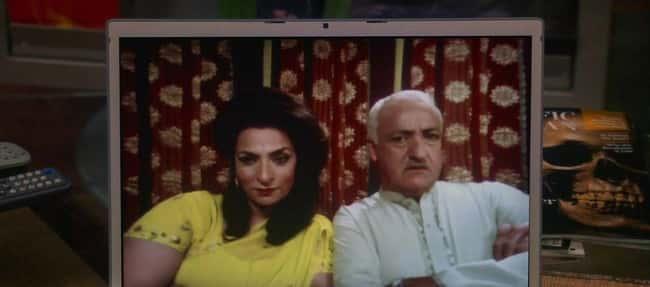 Raj's parents in The Big Bang Theory
