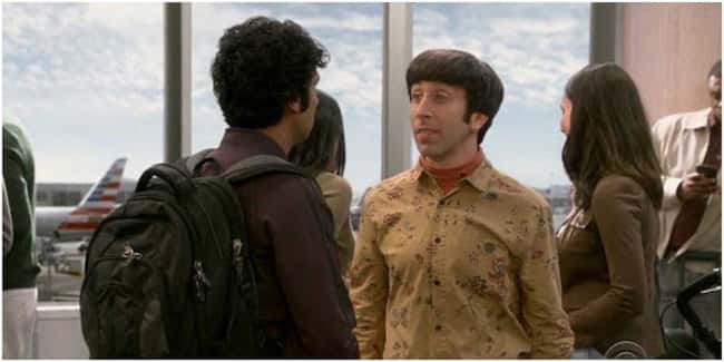Raj's and Howard's relationship