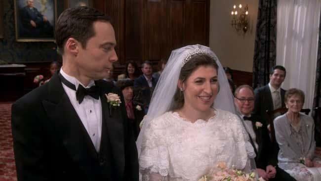 Amy and Sheldon's wedding