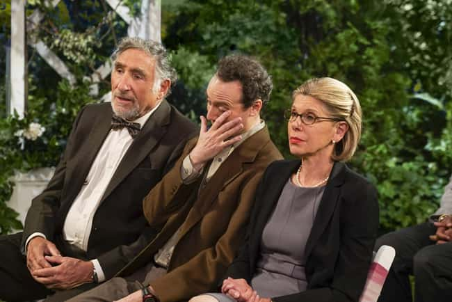 Leonard with his parents in TBBT