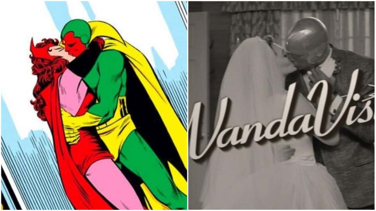 'The Vision And The Scarlet Witch' Vol. 1 Found The Couple Settling Down In The New Jersey Suburbs