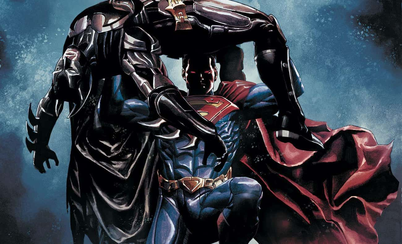 Superman from Injustice Storyline