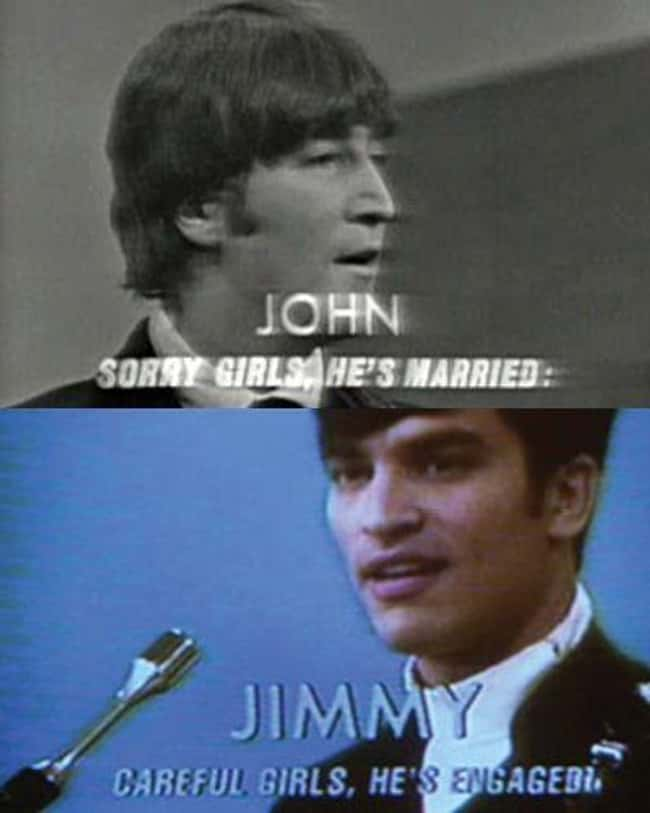 2. In That Thing You Do! (1996), the TV subtitle that mistakenly says Jimmy is engaged refers to the Beatles' appearance on The Ed Sullivan Show.