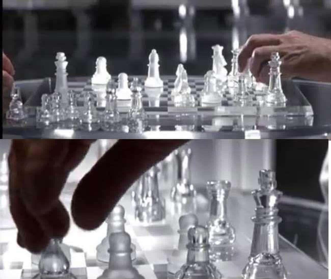 Chess game between Charles & Erik in X-Men (2000)