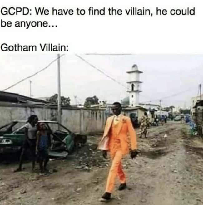 Gotham Villains Always Dripping