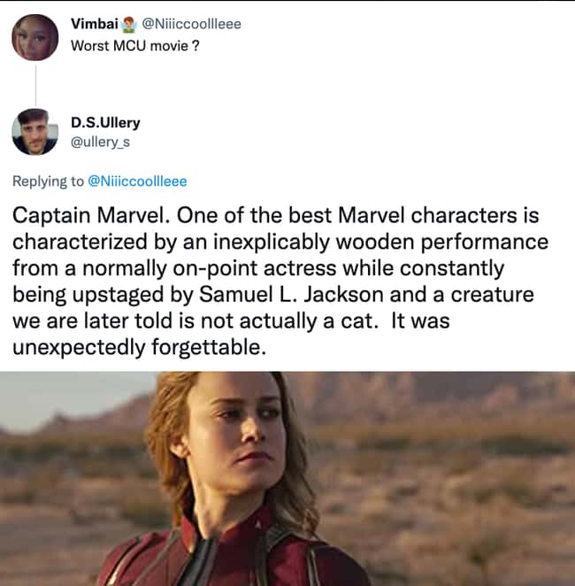 Best character, Bad performance