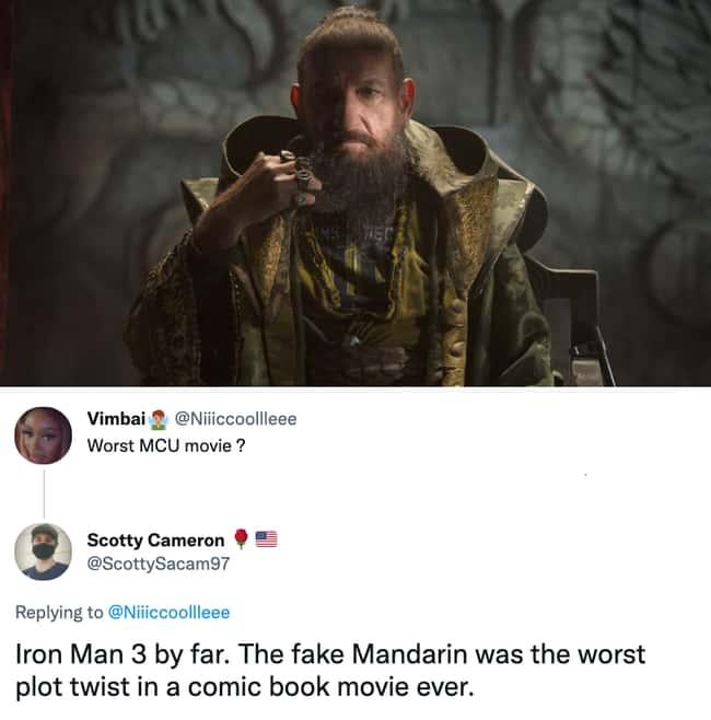 Fake Mandarin was the worst