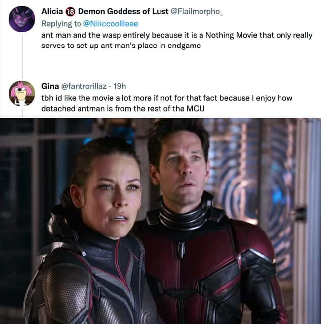 Barely a part of the MCU: Ant-Man