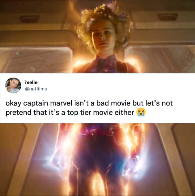 Captain America- neither a top tier movie, nor a bad one