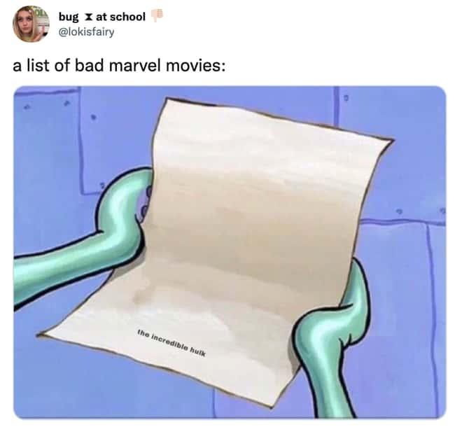 The List of worst MCU Movies