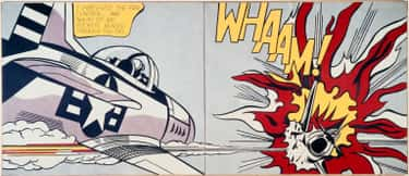 Whaam! is listed (or ranked) 1 on the list Famous Roy Lichtenstein Paintings