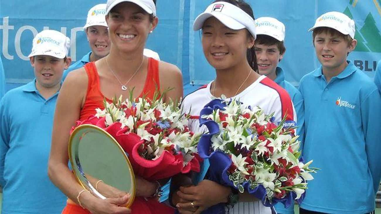 Park Sung-hee is listed (or ranked) 3 on the list The Best Tennis Players from South Korea