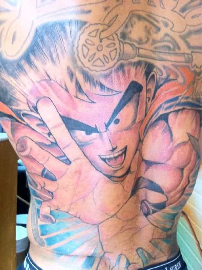 Devin Thomas is listed (or ranked) 1 on the list NFL Players with the Worst Tattoos