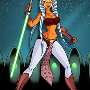Ahsoka Tano is listed (or ranked) 5 on the list Which Star Wars Characters Deserve Spinoff Movies?
