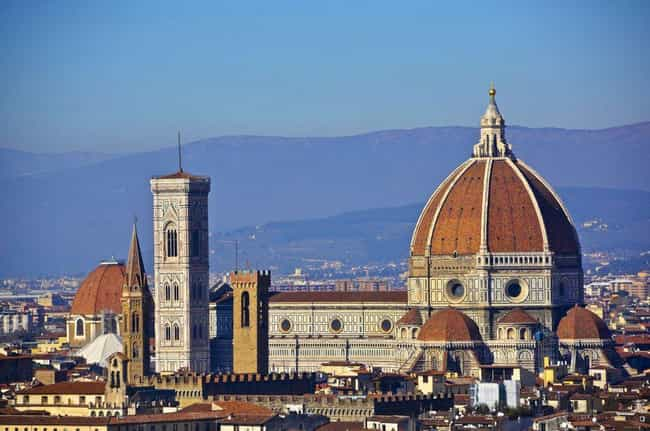 Florence is listed (or ranked) 4 on the list The Most Beautiful Cities in Europe