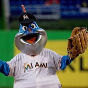 Billy The Marlin is listed (or ranked) 17 on the list The Best Mascots in Major League Baseball