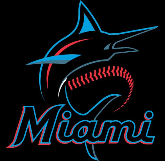 Miami Marlins is listed (or ranked) 2 on the list The Coolest Baseball Team Logos Of All Time