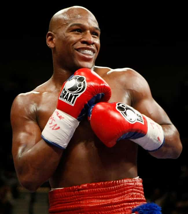 Floyd Mayweather Jr. is listed (or ranked) 3 on the list 26 Athletes Who Are Rappers
