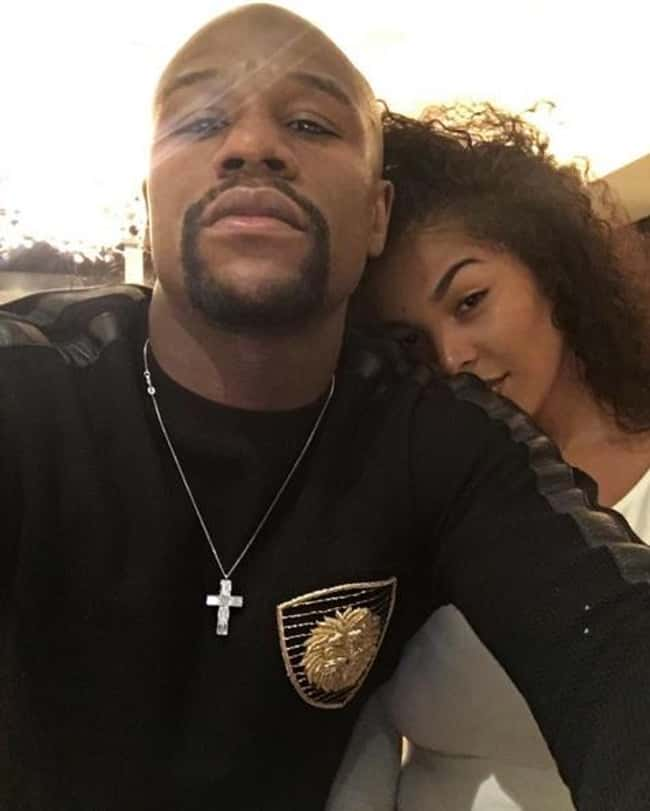 Floyd Mayweather Jr. is listed (or ranked) 26 on the list 48 Famous Couples with Huge Age Differences