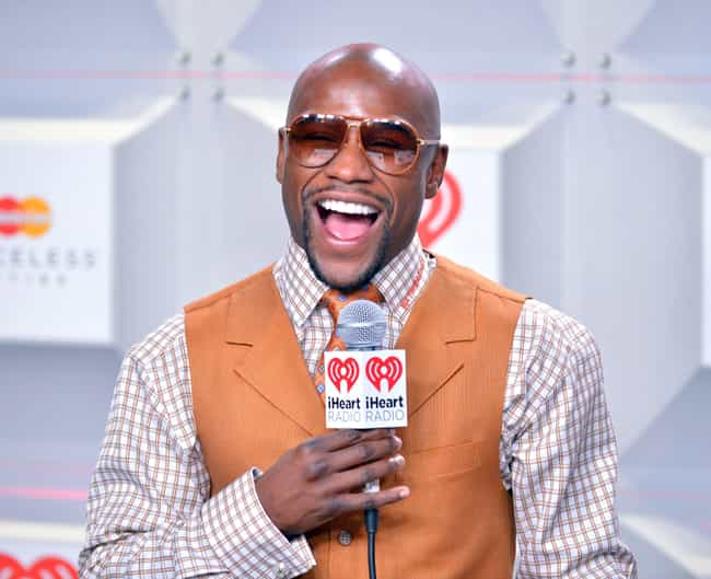 Floyd Mayweather Jr. is listed (or ranked) 4 on the list Celebrities Who Live in Las Vegas