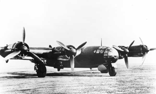 Focke-Wulf Ta 400 is listed (or ranked) 3 on the list Secret WW2 Weapons You've Never Heard About Until Now