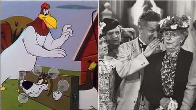 Foghorn Leghorn is listed (or ranked) 2 on the list Parodies That Are Way More Popular Than The Thing They're Parodying