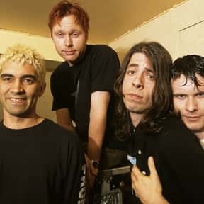 Foo Fighters is listed (or ranked) 4 on the list The Greatest Musical Artists of the '90s