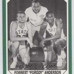 Forddy Anderson is listed (or ranked) 17 on the list The Greatest Stanford Basketball Players of All Time