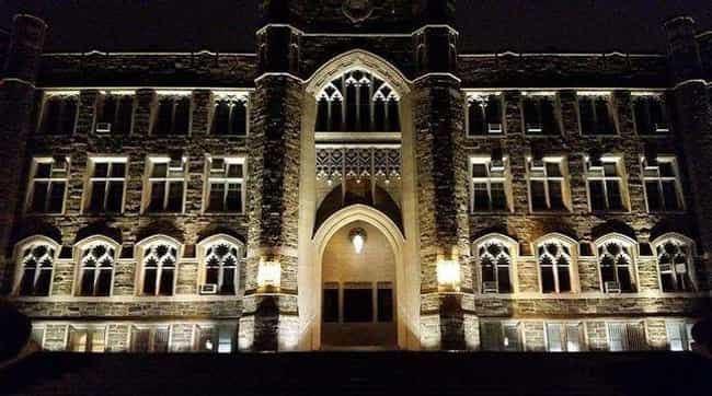 Fordham University is listed (or ranked) 4 on the list The Most Haunted College Campuses In The United States