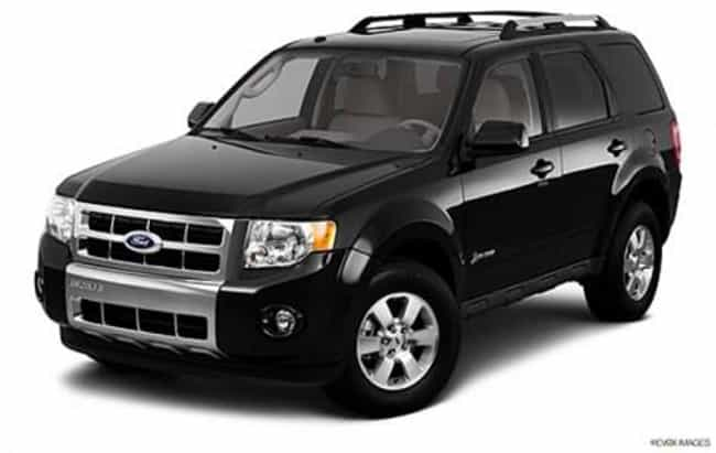 Ford Escape Hybrid is listed (or ranked) 4 on the list Celebrity Cars You Can Afford