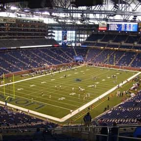 Ford Field is listed (or ranked) 14 on the list The Best NFL Stadiums