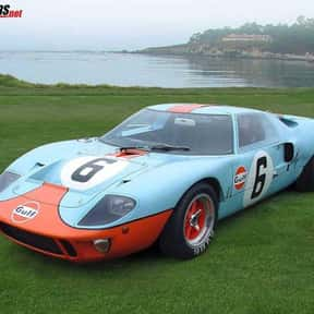 Ford GT40 is listed (or ranked) 4 on the list The Ultimate Dream Garage
