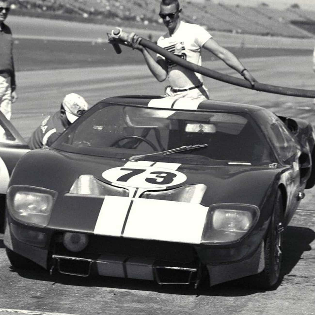 Ford GT40 is listed (or ranked) 2 on the list The Best 1960s Cars
