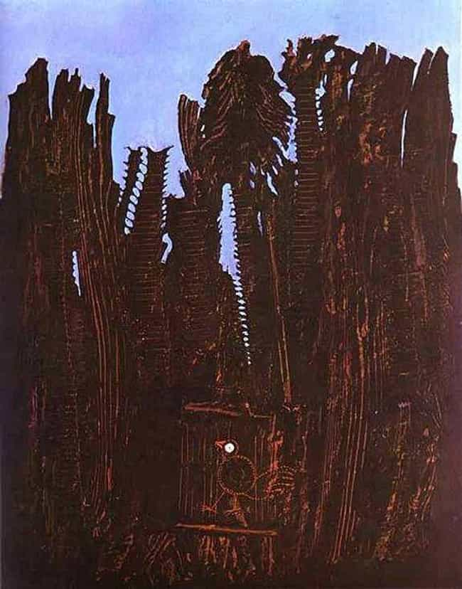 Forest and Dove is listed (or ranked) 2 on the list Famous Max Ernst Paintings