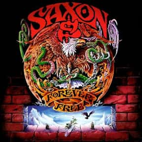 Forever Free is listed (or ranked) 20 on the list The Best Saxon Albums of All Time