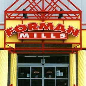 Forman Mills is listed (or ranked) 23 on the list Companies Headquartered in New Jersey