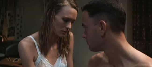 Forrest Gump is listed (or ranked) 1 on the list The Most Jarring Love Scenes In Movies You Suffered Through With Your Parents